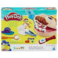 Play-Doh Містер Зубастик, Стоматолог (Dr Drill Пластилин Плей Дог Стоматолог, мистер зубастик обновленный )