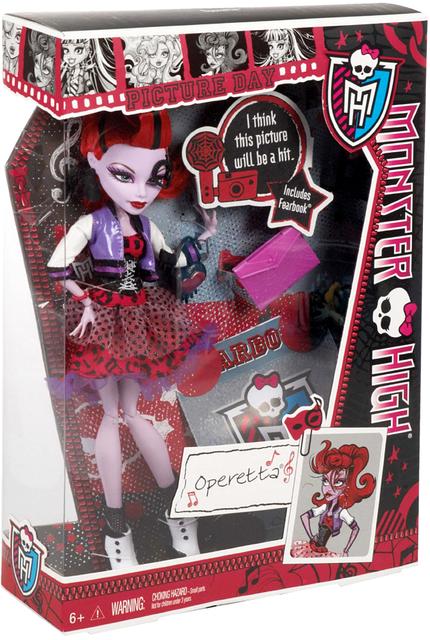Лялька Monster High - Оперета (Operetta) серії  Pictures Day