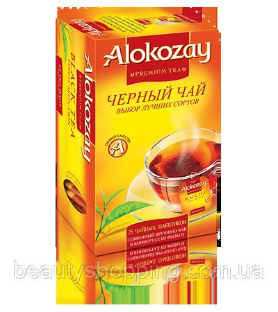 Alokozay чай черный пакетированный без добавок 25 х 2г