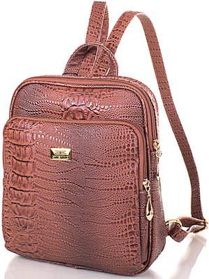 Женский рюкзак из эко кожи ETERNO ETMS35240-12-1 коричневый