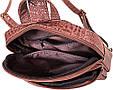 Практичный женский рюкзак из качественной искусственной кожи ETERNO Артикул: ETMS35240-12-1 коричневый, фото 6