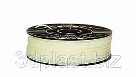 Нитка ABS (АБС) пластик для 3D принтера, 1.75 мм, безбарвний