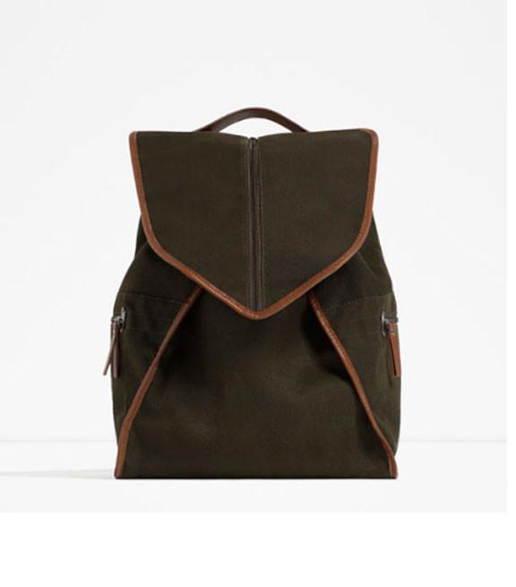 Мужской рюкзак Zara в стиле кэжуал