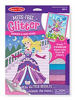 "Набор для творчества с блестящими наклейками ""Принцесса и фея"", Melissa&Doug"