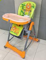 Стульчик детский для кормления RT-002N-16 оранжевый