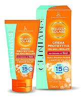 Clinians SUN Крем для загара лица, рук и зоны декольте защитный SPF 15