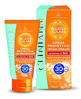 Clinians SUN Крем для загара лица, рук и зоны декольте защитный SPF 30