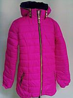 """Куртка -дутик """"Корт"""" для девочек от 6до 12 лет( 34-42 размер)"""