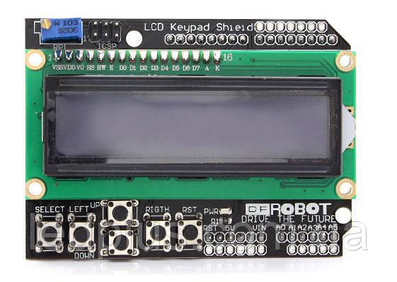 Плата расширения Arduino LCD1602 Keypad Shield