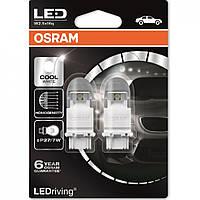 P27/7W Лампочки в габариты OSRAM LED P27/7W LED 12V 1.42/0.54W 6000K W2.5X1 RETROFIT холодный белый 3557CW-02B