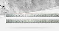 Лінійка з нержавіючої сталі 1000 мм 2 клас точності BMI 963100040