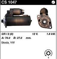 Стартер на SKODA Felicia 1.9D, VW Caddy 1.9D, 0001124013