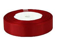 Красная репсовая лента 0,9см