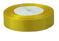 Желтая репсовая лента 0,9см