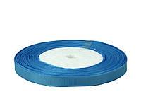 Светло-голубая репсовая лента 0,6см