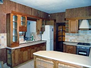 Кухни с массива дерева. 1