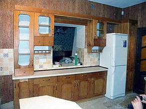 Кухни с массива дерева. 3