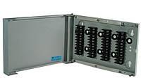 Коробка распределительная КР-1, настенная, на 20 пар (40 контактов), стальная, на винте