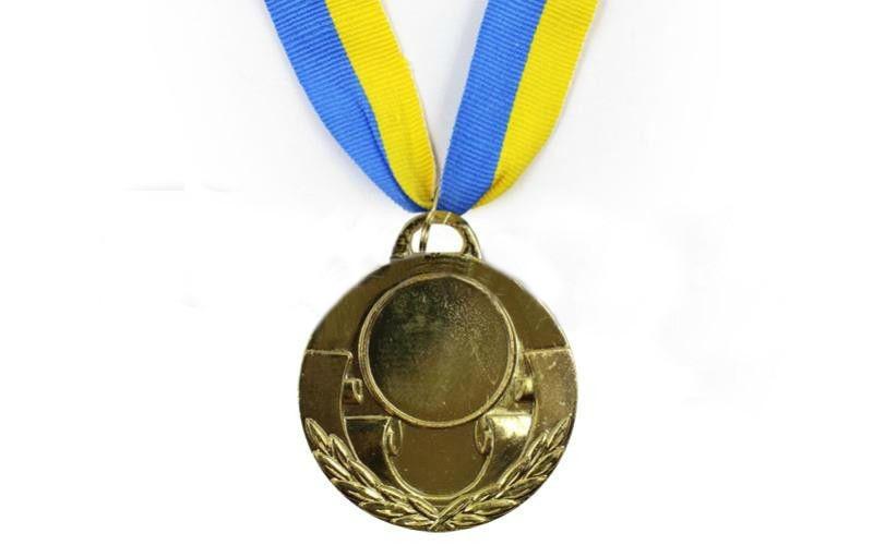 Медаль (заготівля) спорт d-5 см З-4846 AIM 1 місце (золото)
