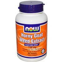 Horny Goat Weed Extract,трава похотливого козла,нарушение эрекции,порушення ерекції,750мг,90 таблеток