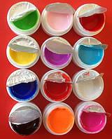 Цветной набор гелей 12шт. , фото 1