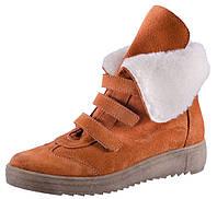 Детские замшевые зимние ботинки Котофей размер 32-37.5
