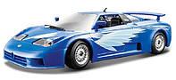 Автомодель BUGATTI EB 110 синий 1:24 Bburago (18-22025)