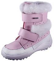 Детские зимние кожаные ботинки Котофей размер 23-31