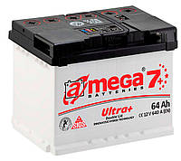 Автомобильный аккумулятор A-Mega 6СТ-64 АзЕ Ultra+ M7+