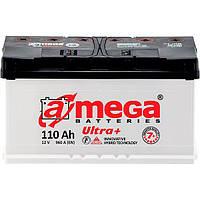 Автомобильный аккумулятор A-Mega 6СТ-110 АзЕ Ultra+
