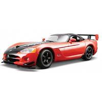 Автомодель DODGE VIPER SRT10 ACR оранж-черн металлик, красн-черн металлик 1:24 Bburago (18-22114)