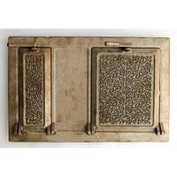 Дверца чугунная спаренная, размер 305х465мм Татарская