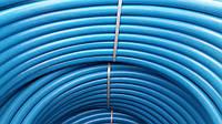 Труба из полиэтилена ПЭТ Ворсклапласт (вторичка)  д.40 синяя (100)