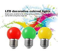 Лампа-шарик с цоколем Е27 Bioledex LED 0,8Вт для праздничного освещения, IP54