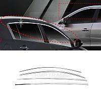 Хромовые накладки молдинги на окна Kia Sportage 2011-15 новые (Made in Korea)