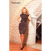 Элегантное платье прилегающего силуэта 9907