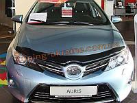 Дефлекторы капота Sim для Toyota Auris 2015