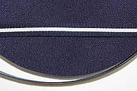 ТЖ 10мм репс (50м) т.синий+белый , фото 1