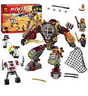 "Конструктор Bela Ninja 10525 (аналог Lego Ninjago 70592) ""Робот Ронина"" - Нинзяго"