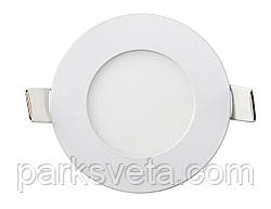 Led светильник Lezard 3W 6400K врезной круг