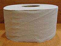 Туалетная бумага Джамбо на гильзе серая