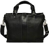 Кожаная мужская сумка Mk34.1 черная