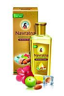 Аюрведическоe масло c миндалем и гибискусом  Навратна / Navratna Ayurvedic Oil /100 мл.