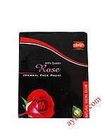 Herbal Face Pack Rose - с омолаживающим эффектом, подойдет для обладательниц сухой и чувствительной кожи.