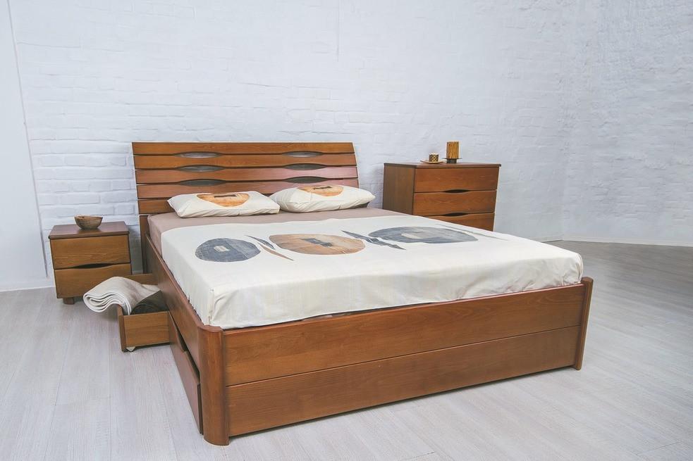 """Кровать деревянная с ящиками """"Марита Люкс"""", фото 1"""