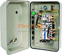 Пускатель ПМЛк-1 95А + реле + таймер + контакт приставка Ue=220В/АС3  IP65