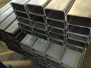 Швеллер гнутый стальной 100 х 60 х 4 мм