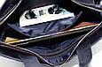 Кожаная мужская сумка Mk34.1 синяя, фото 7