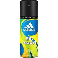 Дезодорант для мужчин Адидас Adidas Deo Body Spray GET READY