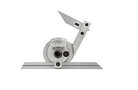 Угломер УМ 4, длинна 150 мм,  диапазон 0-360 град, цена деления 5 мин